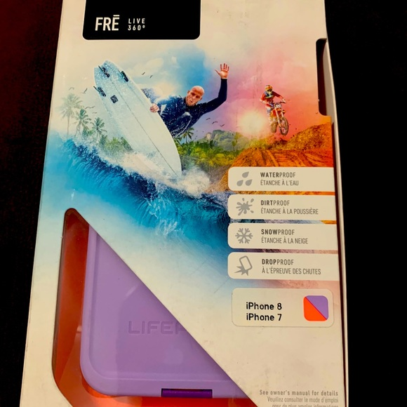 Life Proof iPhone case. 7/8